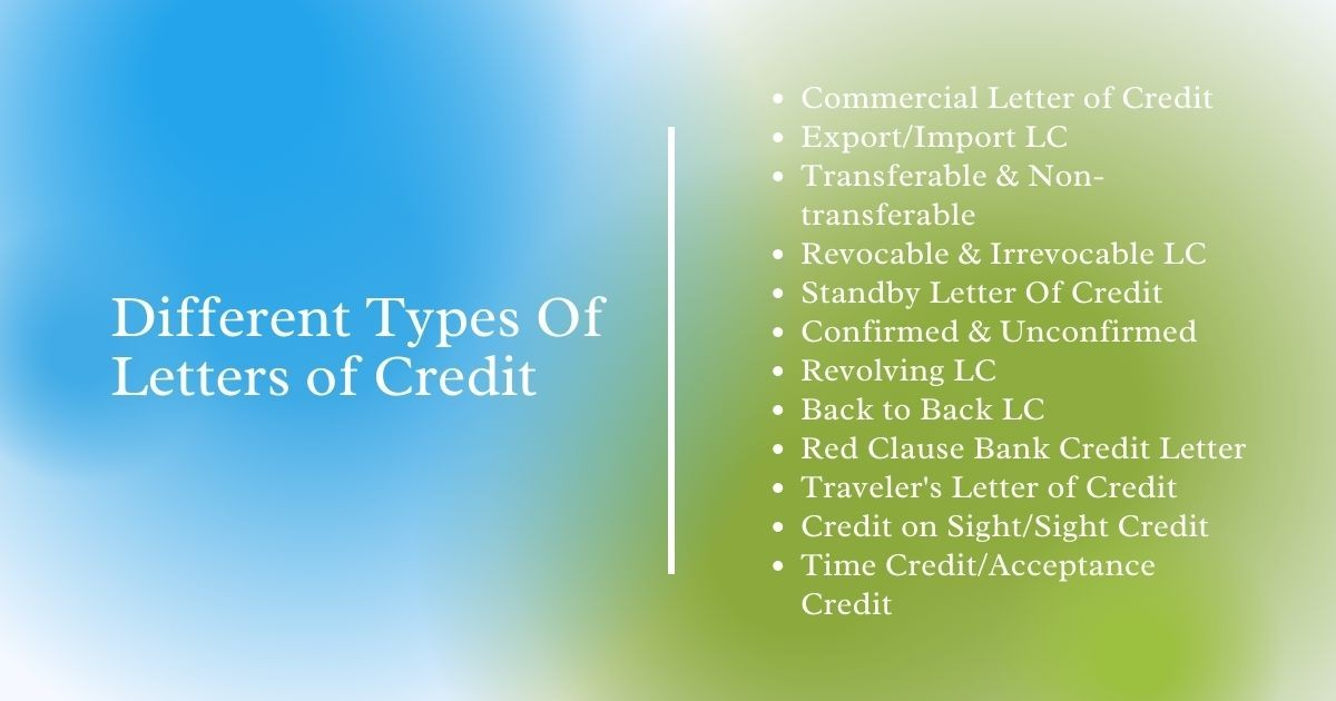different-types-of-letters-of-credit